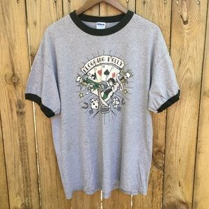 XL Flogging Molly Ringer Tee VGUC 90/10 Cotton